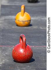 Iron kettlebells - Iron kettlebelsl for weight training