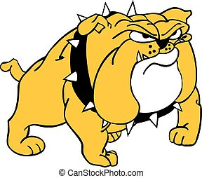 Bulldog - Vector file of Bulldog