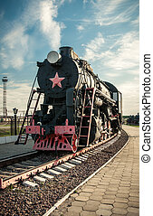 old steam locomotives of the 20th century