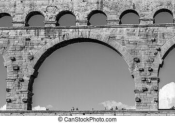 Pont du Gard in Provence, France