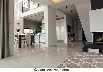 New design two storey villa - Photo of light new design two...