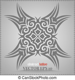 Abstract tattoo, celtic pattern
