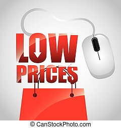 low prices design, vector illustration eps10 graphic