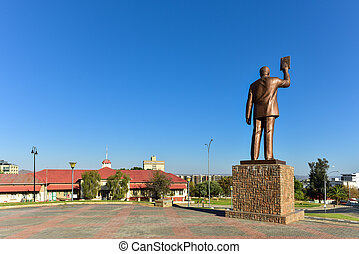 Independence Museum, Windhoek, Namibia, Africa -...