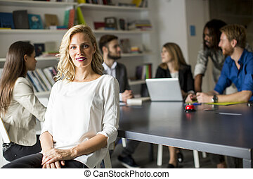 Multiethnic people in the office