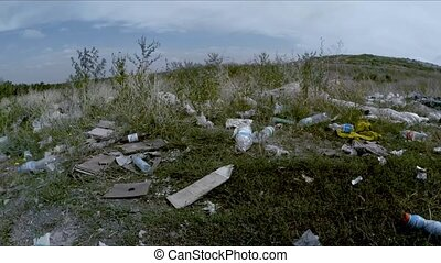 Garbage Dump Scattered Around Roadside In Ukraine - Video...