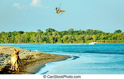 Kitesurf on Ada Bojana, Montenegro - Water fun and...