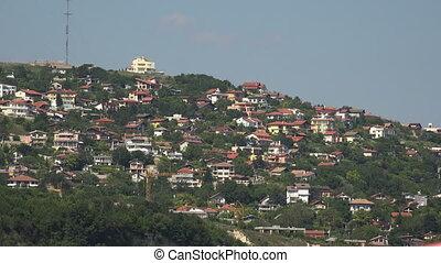 Albena. Resort, Spa in Bulgaria. Shot in 4K (ultra-high...