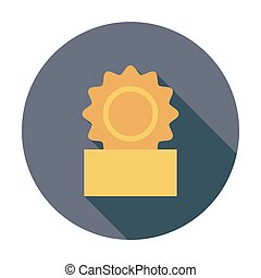 Canned Flat vector icon for mobile and web applications...