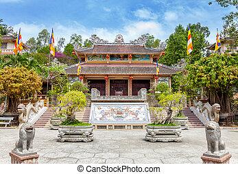 Long Son pagoda Nha Trang Vietnam - Long Son pagoda in Nha...