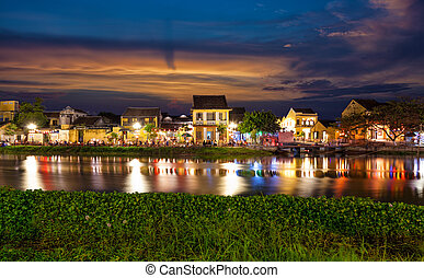 Historic city of Hoi An in Vietnam