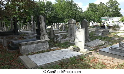 Destroyed the graves at the Jewish cemetery. Varna....