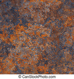 Rust metal - Abstract generated textured rust metal surface...