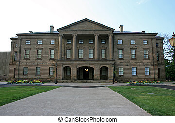 Province House - Histiorical Province House, Charlottetown,...