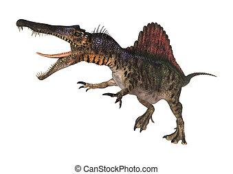 Dinosaur Spinosaurus - 3D digital render of a dinosaur...