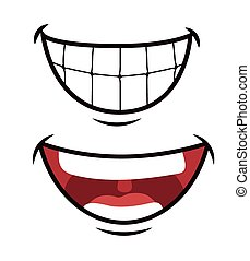 Funny cartoon face design, vector illustration eps 10