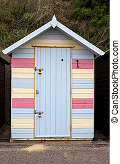 Beach Hut at Pakefield, Suffolk