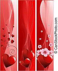 Valentine\'s Day banners