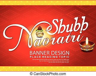 navratri celebration textbackground - navratri celebration...