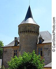Castle, tower