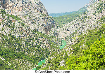 Canyon du Verdon - Grand Canyon du Verdon, Provance, France