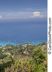 View of village Sant Andrea, Elba - View of the village Sant...