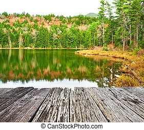Pond in White Mountain National Forest, New Hampshire, USA