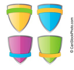 Protect Shield Vector Illustration EPS10