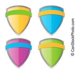 Protect Shield Vector Illustration EPS10