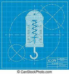plano, Dinamómetro,  vector, física
