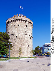 White Tower - Symbol of City, Thessaloniki - White Tower,...
