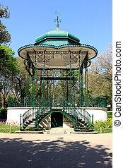 Estrela, Trädgård, LISSABON, portugal,