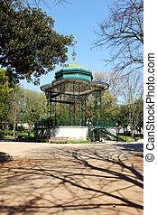 Estrela garden, Lisbon, Portugal