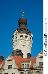 New Town Hall Tower, Leipzig - Main Tower of New Town Hall...