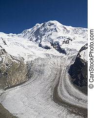 Gorner Glacier, Gornergrat, Switzerland - The Gorner...