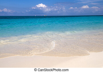 Caribbean paradise - clear water and white sand - Best of...