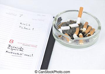 I'm quitting smoking