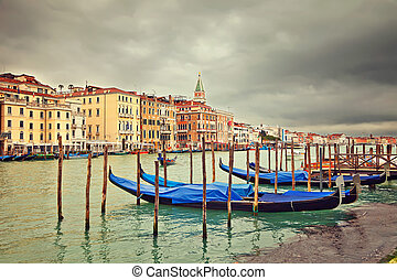 Cloudy day in Venice, Italy