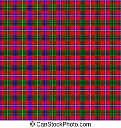 Clan Abernethy Tartan - A seamless patterned tile of the...