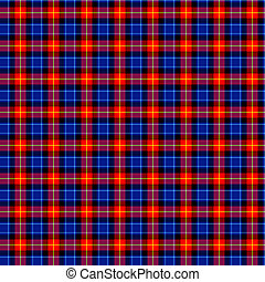 Clan Anstruther Tartan - A seamless patterned tile of the...
