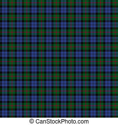 Clan Baird Tartan - A seamless patterned tile of the clan...