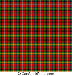 Clan Boyd Tartan - A seamless patterned tile of the clan...