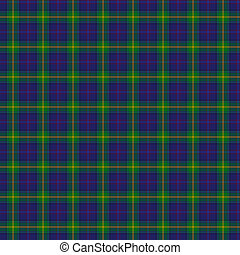 Clan Boyle Tartan - A seamless patterned tile of the clan...