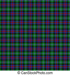 Clan Campbell of Cawdor Tartan - A seamless patterned tile...