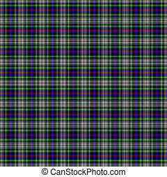 Clan Davidson of Tulloch Dress Tartan - A seamless patterned...