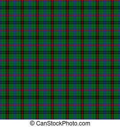 Clan Davidson Tartan - A seamless patterned tile of the clan...