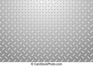 Stucco embossed aluminum sheet vector background. Grey...