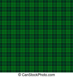 Clan Dunbar Hunting Tartan - A seamless patterned tile of...