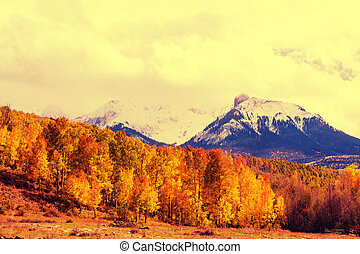 Colorado - Autumn in Colorado mountains