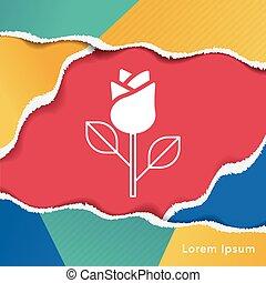 flower bouquet icon